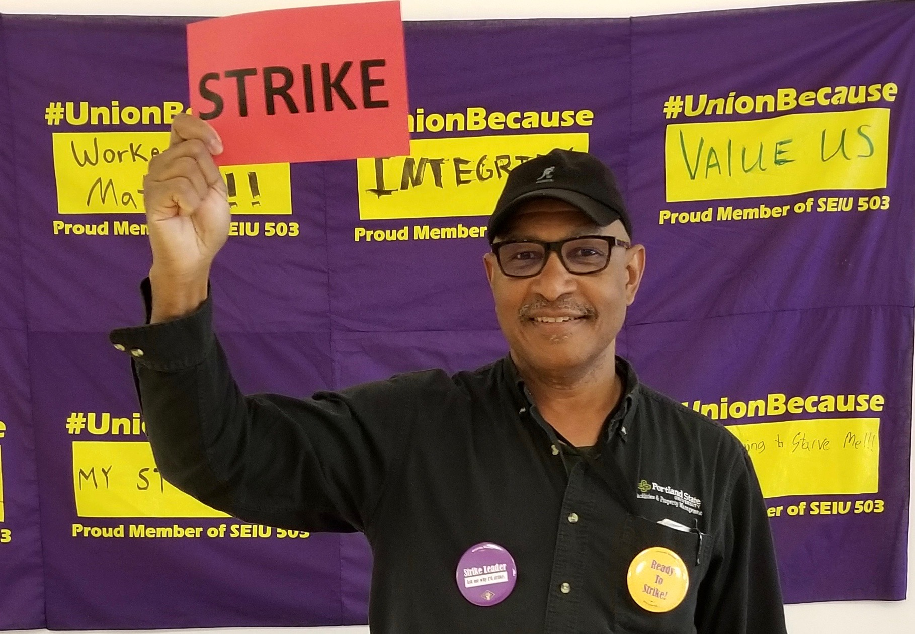 SEIU 503 ready to strike